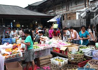 ウブド市場3の画像
