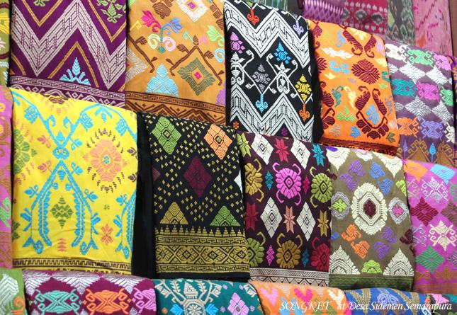 インドネシアの布の画像