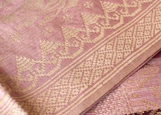 ピンク布の画像